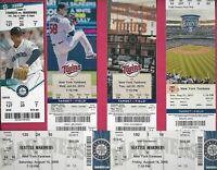 Mariano Rivera 6 Ticket Stubs (Full) - All Career Saves - New York Yankees - HOF