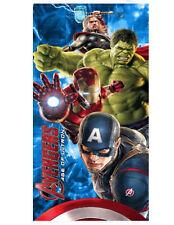 Marvel Avengers Age of Ultron Captain America Thor Hulk Beach Bath Towel Velour