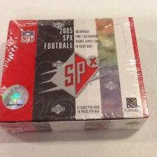 2005 Upper Deck SPX Football Hobby Sealed Box