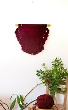 Modern Macrame - Color Wall Hanging - Geometric Tapestry Wall Decor - Shabby chi