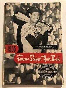 1955 LOUISVILLE Famous Slugger TED WILLIAMS Mickey Mantle JACKIE ROBINSON Joe D