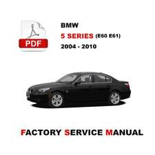 buy 5 series 2005 car service repair manuals ebay rh ebay co uk BMW 6 Series BMW 7 Series