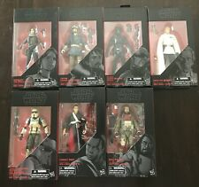 Star Wars The Black Series 6? Rouge One Action Figures Lot of 7
