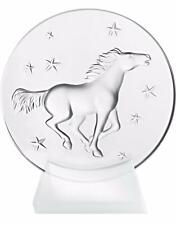Lalique Crystal (Brand New) - Kazak Horse Paperweight Clear 10330300 mint in box