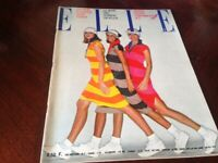 Rivista Magazine Elle France 23 Fevier 1976