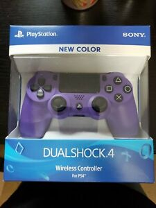 [OFFICIAL SONY OEM] Factory Sealed Dualshock 4 (ELECTRIC PURPLE PS4 CONTROLLER)