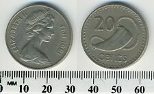 Fiji 1981 - 20 Cents Copper-Nickel Coin - Queen Elizabeth II - Tabua