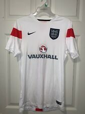 Nike Drifit Vauxall England National Team Soccer Training Jersey Size Small