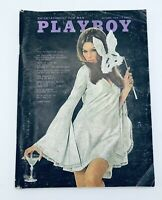Playboy Magazine - October, 1968 - Back Issue - Vintage - with Centerfold Intact