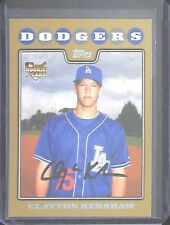 2008 Topps Update Gold #UH240 Clayton Kershaw No 938 of 2000