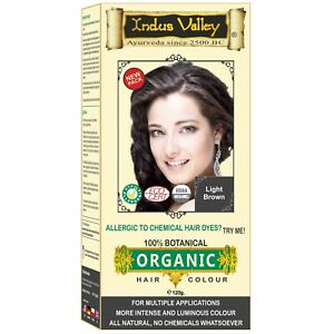 Indus Valley 100% Botanical Herbal Hair Colour Pure Natural Organic No Chemicals