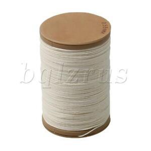 0.55mm Hemp Waxed Thread Round Cord Craft Sewing Wax Line M000