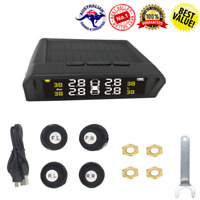 Tire Pressure Monitoring System External Wireless Solar Universal TPMS System