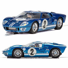 SCALEXTRIC Slot Car C3916 Ford GT MKII Sebring 1967