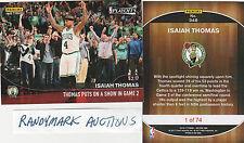Isaiah Thomas BOSTON CELTICS PANINI INSTANT PLAYOFFS 53 Pts 5/2 #348 x/74 SP