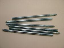 Gougeons  bois vers métal meuble fixation cheville vis M6x120mm paquet x 6,