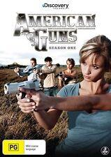 American Guns : Season 1 (DVD, 2013, 3-Disc Set) - Region 4