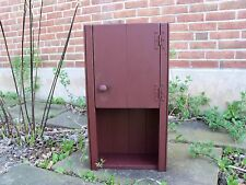 Primitive Handcrafted Bartlett Wall Cupboard