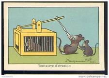 Chromo Blédine Jacquemaire Benjamin Rabier souris rat piège mouse rat trap Maus
