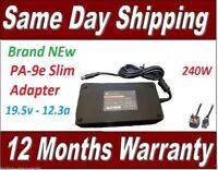 Charger For Dell Alienware M17X R1 M17X R2 M17X R3 M17X R4 240W 19.5v 12.3a NEW