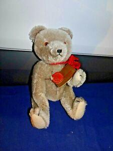 """Hermann Fully Jointed Teddy Bear 12"""" Tall"""