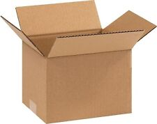 The Packaging Wholesalers 9 x 7 x 6 Shipping Box, ECT 32, Brown BS090706