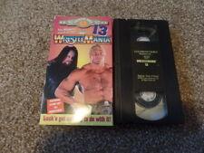 wwf WRESTLEMANIA 13 XIII vhs COLISEUM VIDEO wrestling