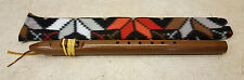 NICE SIGNED ALBERT GRAY EAGLE 6 HOLE NATIVE AMERICAN INDIAN WALNUT WOOD FLUTE