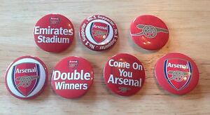 Set of 7 Arsenal FC  Badges