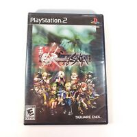Romancing SaGa PS2 (Sony, PlayStation 2) Complete w/ Manual Tested 100% Working!