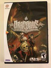 Draconus - Sega Dreamcast - Replacement Case - No Game