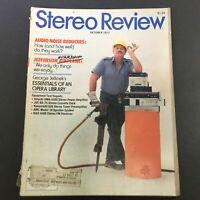 VTG Stereo Review Magazine October 1977 - George Jellinek's Opera Library