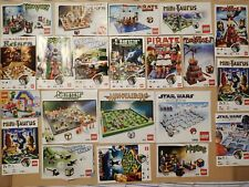 Lot of Lego game instructions         (Y91)
