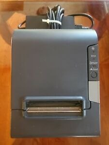Epson TM-T88V (M244A) Point of Sale Thermal Printer /w POWER ADAPTER #2