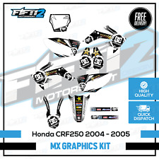 Honda CRF 250 2004 to 2005 Energy Design Moto Graphics Sticker Decals Kit