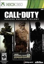 XBOX 360 GAME CALL OF DUTY MODERN WARFARE TRILOGY BRAND NEW AND SEALED
