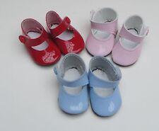 1 paire chaussure rouge 6,5cm convient aus Miss Corolle de 42cm ou autre