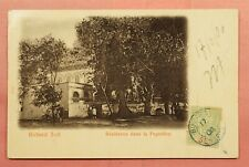 1906 FRENCH WEST AFRICA SENEGAL POSTCARD TO FRANCE 128189