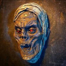 THE MUMMY Monster 1/2 Head Sculpture wall display Egyptian decoration