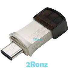 Transcend 890s Type-C 32GB 32G USB 3.1 Dual Flash Drive JetFlash Mac Chromebook