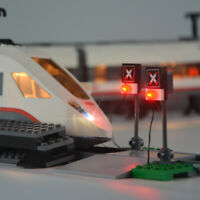 LED Licht Set Für  CITY High Speed Passenger Train LEGO 60051 Beleuchtungsset
