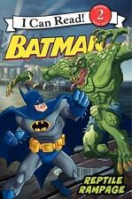 Batman Classic: Reptile Rampage (i Can Read Book 2): By Katharine Turner