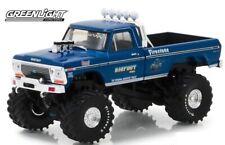 Ford F250 1974 Bigfoot Bleu 1/43 1er Monster Truck
