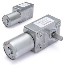 12V 0.6 RPM High torque Turbo Electric Geared DC Motor Shaft  Low Speed GW370 US