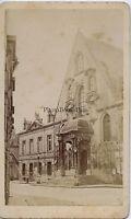 Dijon Palais Da Justice Francia CDV Vintage Albumina Ca 1870