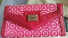 ♡Mimco soft Leather Hand Bag purse Trifold Wallet clutch Bnwt $229.00 + Dust bag