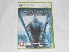 NEW Viking Battle for Asgard XBox 360 PAL Game SEALED Sega asguard ascard UK PAL