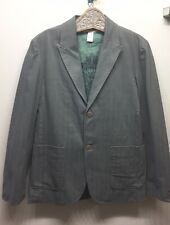 Guess Jeans Men's Sport Jacket Blazer Khaki Green 2 Button M