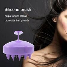 Silicone Scalp Shampoo Massage Brush Washing Massager Shower Head Hair Comb*HOT