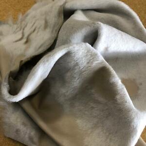 Hair on Hide Goat Leather Skin for DIY Craftiing #AL-040521-01